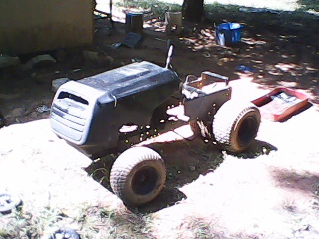The Junkyard found - Weed Eater Mud Mower - (PICS) Sunp0114