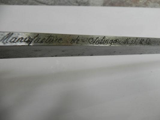 Identification de sabre. An_1111