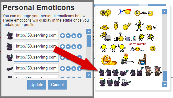 [DEMO] Personal Emoticons Pemoti10