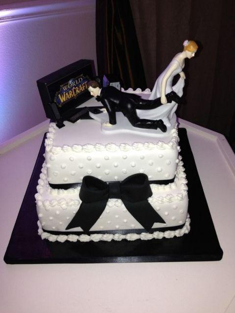 un joli gâteau de mariage ! Gateau10