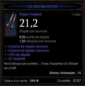 Objet bleu avec lores (petite histoire en dessous de l'item) Le_dac10