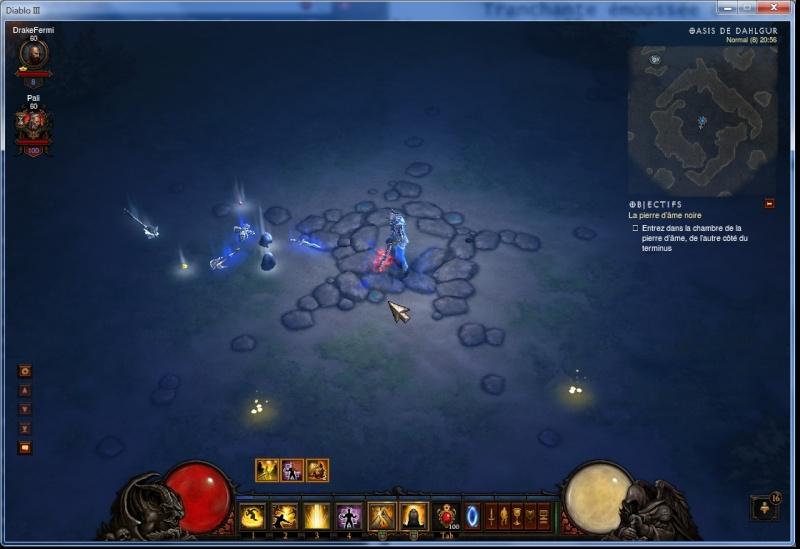 Objet bleu avec lores (petite histoire en dessous de l'item) Screen11