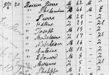 Joseph Pigeon  et Hélène Poirier mariage introuvable Helene10