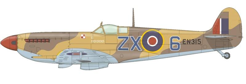 spitfire mk IX tamiya 1/32 8282-a10