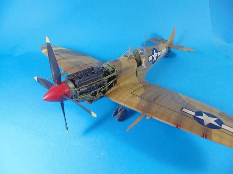 spitfire mkVIII tamiya 1/32  Dsc03042