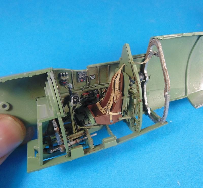 spitfire mk IX tamiya 1/32 Dsc03113