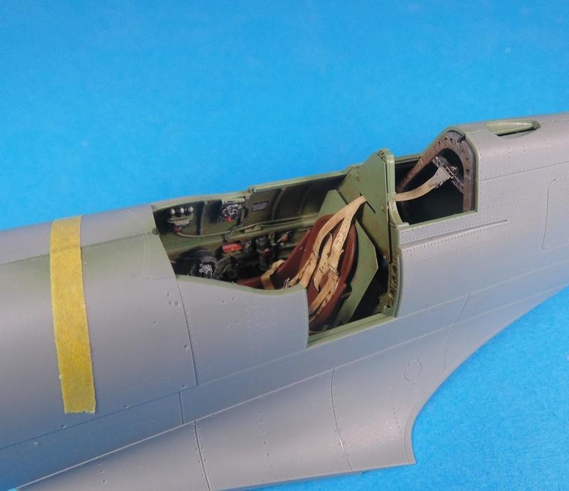 spitfire mk IX tamiya 1/32 Dsc03114