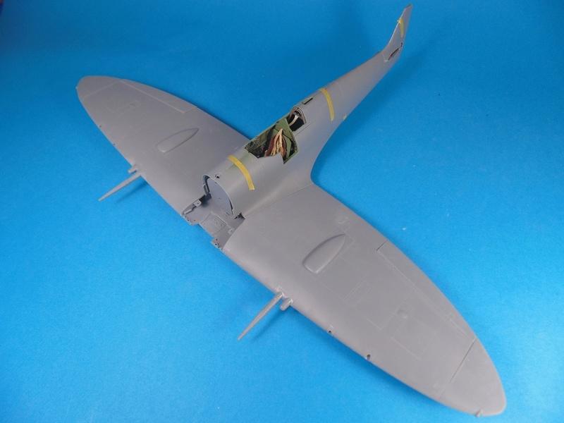 spitfire mk IX tamiya 1/32 Dsc03117