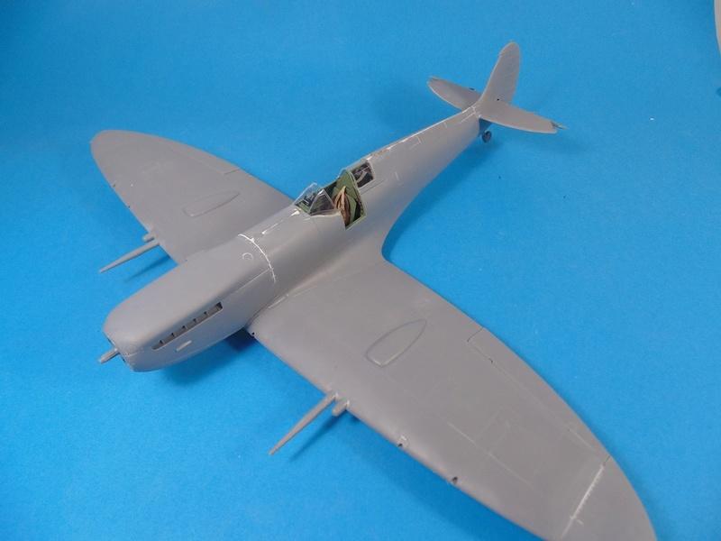 spitfire mk IX tamiya 1/32 Dsc03118