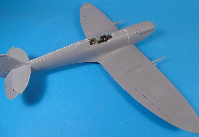 spitfire mk IX tamiya 1/32 Dsc03120