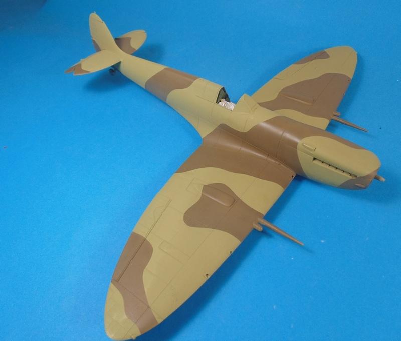 spitfire mk IX tamiya 1/32 Dsc03124