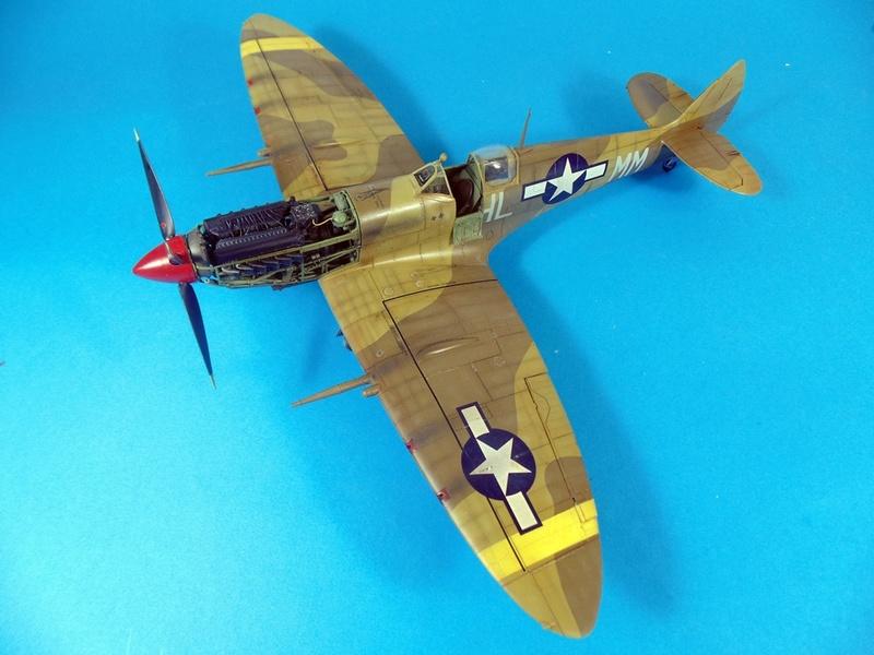 spitfire mkVIII tamiya 1/32  Dsc03127