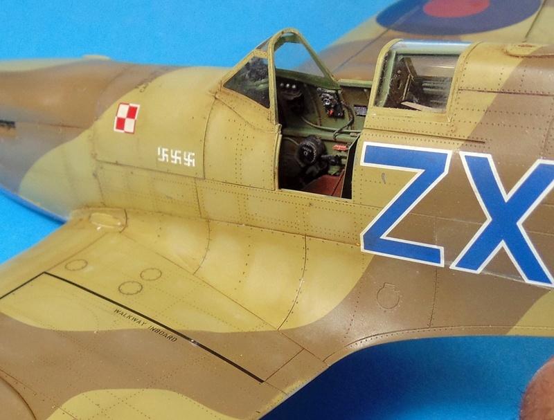 spitfire mk IX tamiya 1/32 Dsc03128