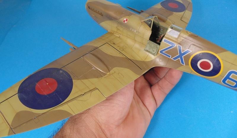 spitfire mk IX tamiya 1/32 Dsc03131