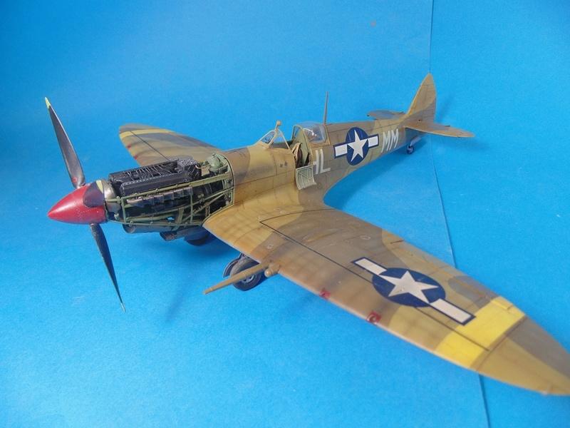 spitfire mkVIII tamiya 1/32  Dsc03132