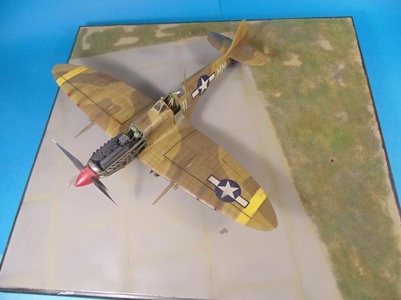 spitfire mkVIII tamiya 1/32  Dsc03133