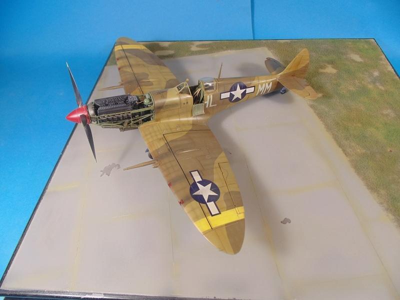 spitfire mkVIII tamiya 1/32  Dsc03134