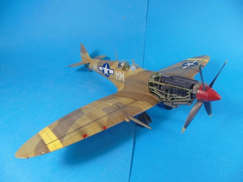 spitfire mkVIII tamiya 1/32  Dsc03135