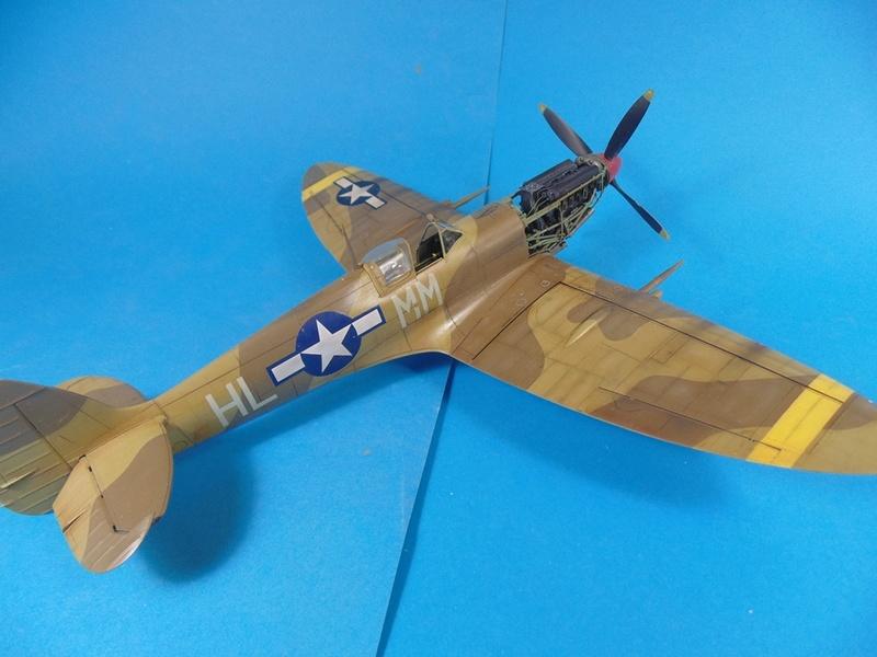 spitfire mkVIII tamiya 1/32  Dsc03136