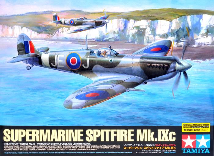 spitfire mk IX tamiya 1/32 Tamiya15