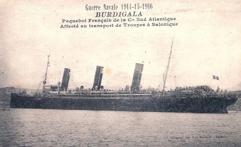 * BURDIGALA (1915/1916) * 476_0010