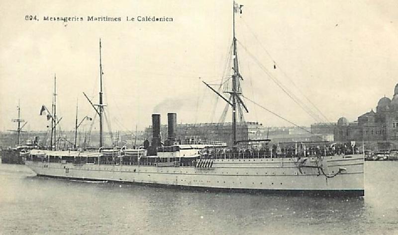 * CALEDONIEN (1914/1917) * 661_0010