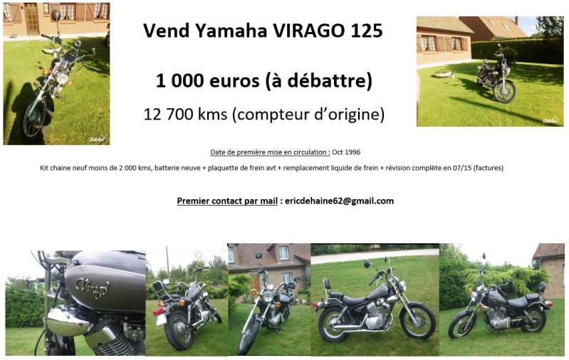 A vendre YAMAHA VIRAGO 125cc Vends_10