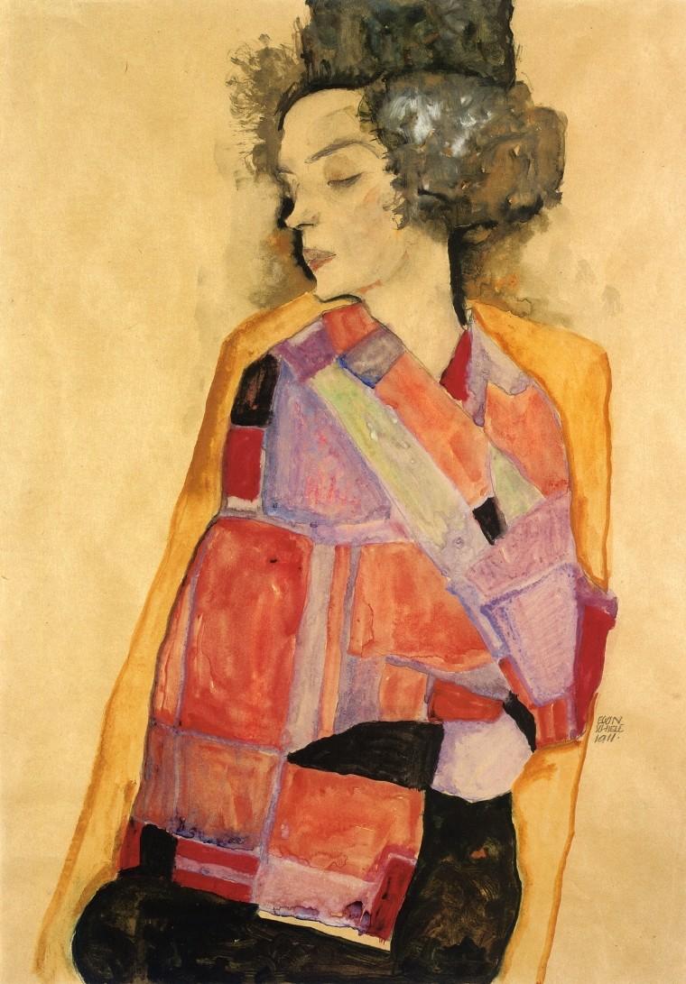 Egon Schiele [peintre] Egon-s10