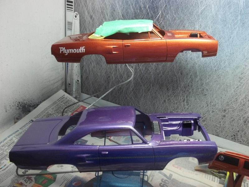 1970 Plymouth Superbird de Monogram WIP 00411