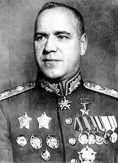 La Grande guerre gécéenne  - Ébauche Chronologie en P8 Zhukov10