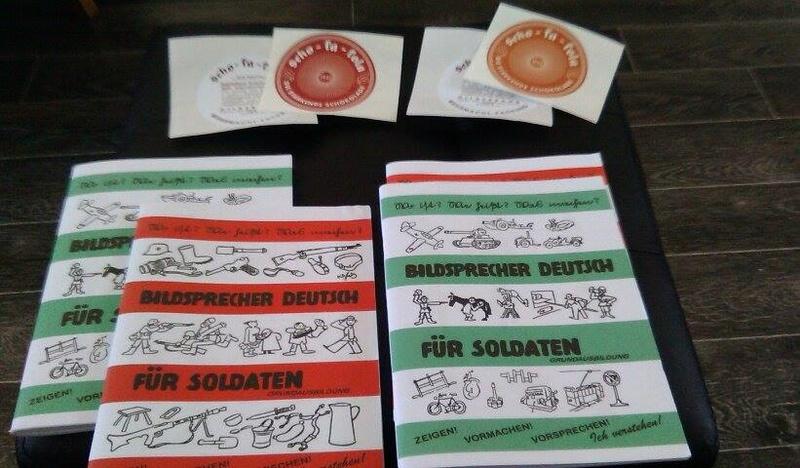 Bildsprecher Deutsch Fur Soldaten Tome 1 & 2 13735110