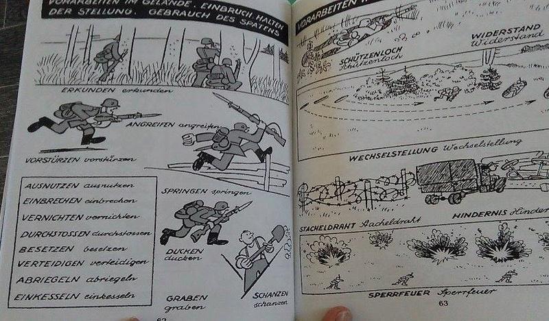Bildsprecher Deutsch Fur Soldaten Tome 1 & 2 13820310