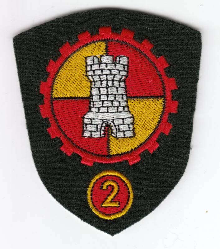ASG Shoulder badges 2asg10