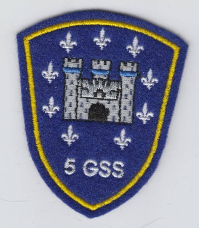 ASG Shoulder badges 5gss10