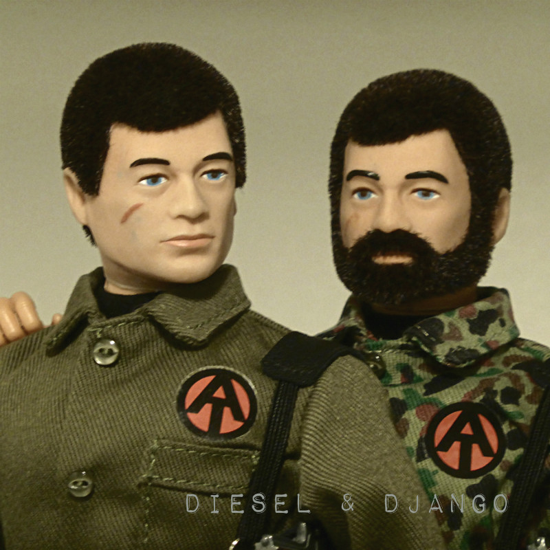 Top Secret - Operation Dropkick - Did/Does your Action Man have a name? Diesel10