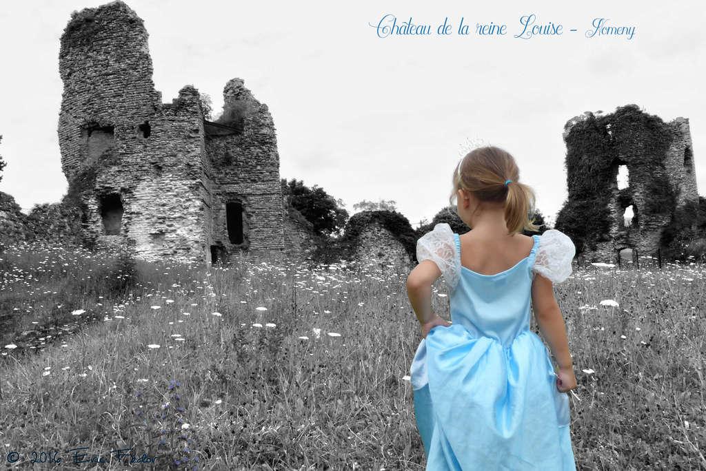 La reine Louise et son château  Concou11
