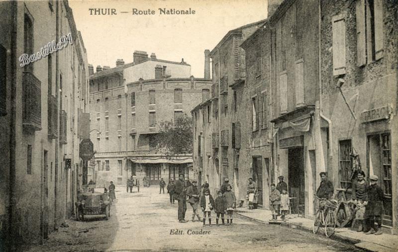 Cartes postales ville,villagescpa par odre alphabétique. - Page 10 A_thui10