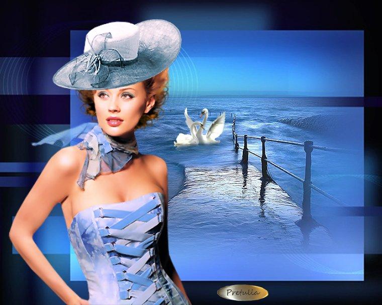 """Des élégantes  """"chapeautées"""" ... - Page 2 Chap_r10"""