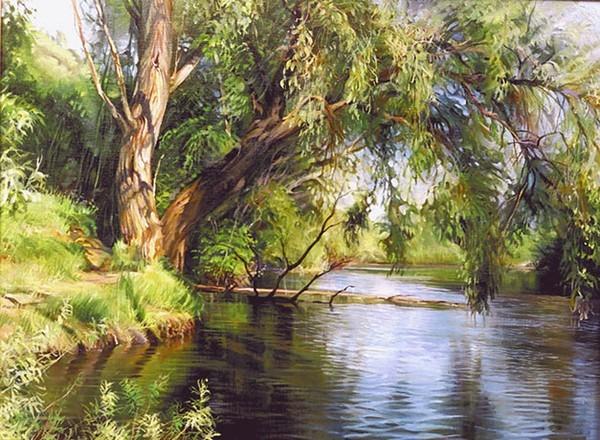 L'eau paisible des ruisseaux et petites rivières  Eau13