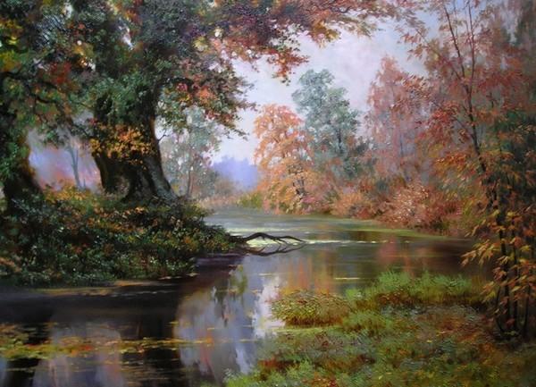 L'eau paisible des ruisseaux et petites rivières  Ru_a10