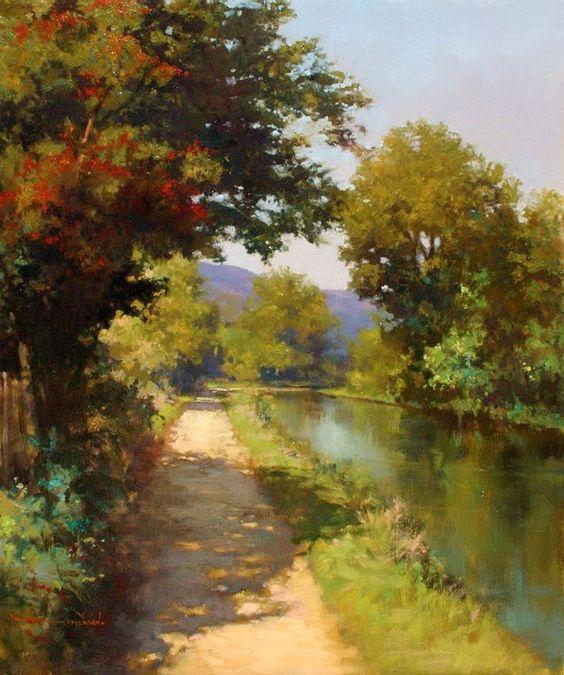 L'eau paisible des ruisseaux et petites rivières  Rui_n10