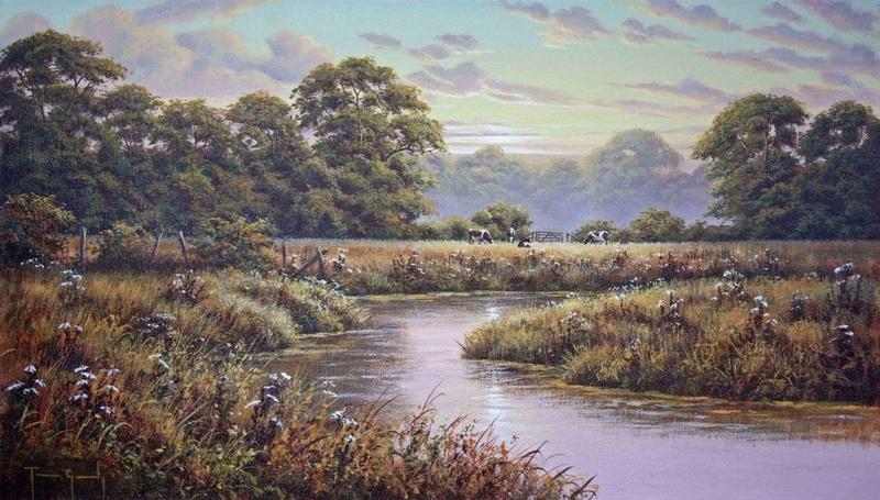 L'eau paisible des ruisseaux et petites rivières  Ruisse11