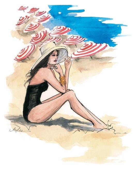 """Illustrations ... pour l'été ... Plage et """"farniente"""" ... - Page 2 Yty_t12"""