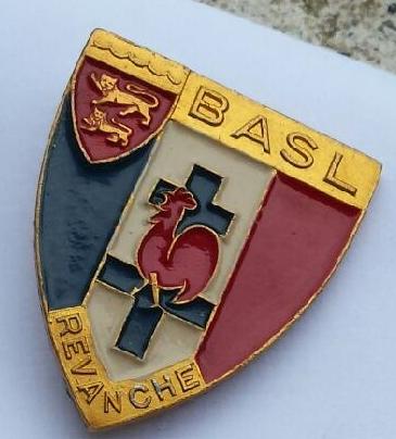 Badge bataillon armée secrète de la loire Basl10