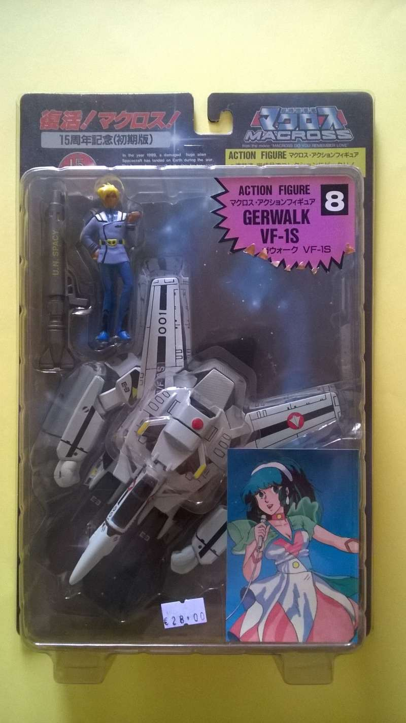 ROBOTECH* MACROSS action figure 15th * Roy Fokker Wp_20112