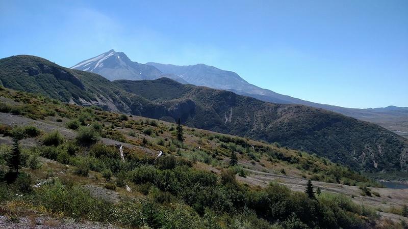 Mt St Helens run Mtsthe61