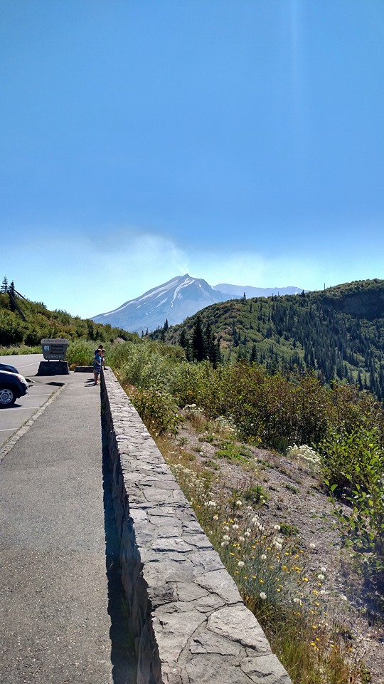 Mt St Helens run Mtsthe62