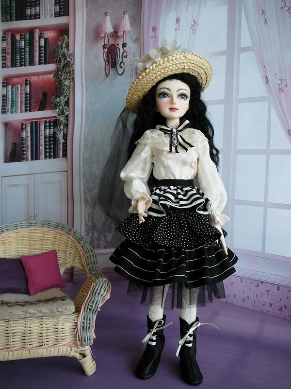 Mon Dahlia Noir (Lili Miro Doll)  Nouveau face-up ! 01_bla10