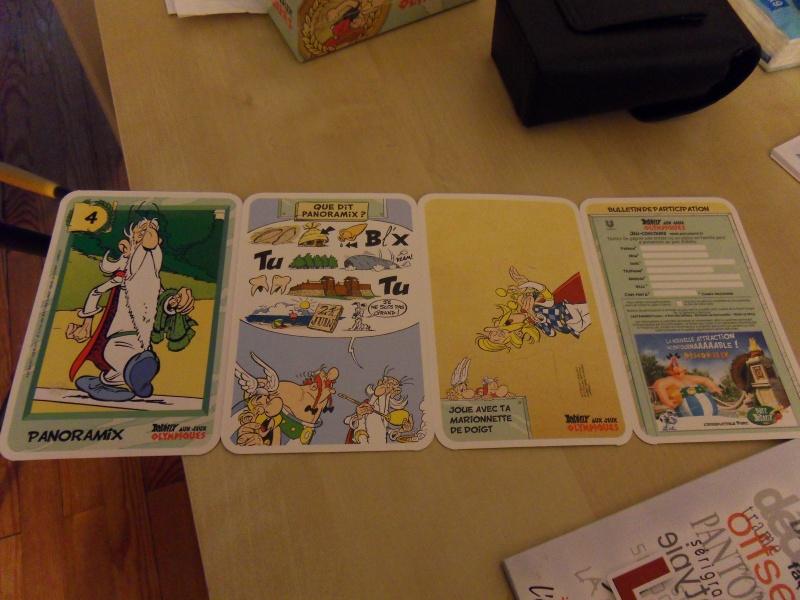 """Collection de cartes """"Astérix aux Jeux Olympiques""""  et balles magiques (cora et match) - Page 2 Sdc10510"""