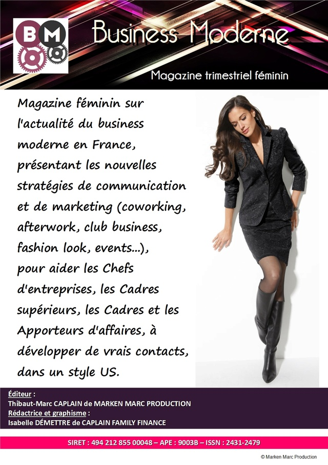BUSINESS MODERNE - Magazine : Où trouver votre magazine Busine10